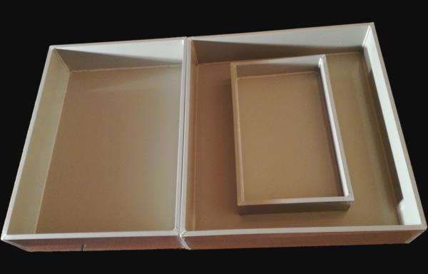 Wanna wychwytująca, tacka, pudełko